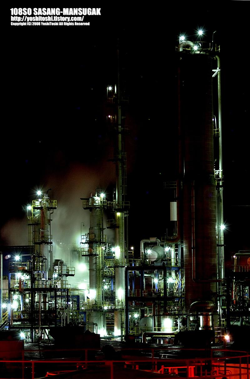 온산공단야경:이수화학단지3
