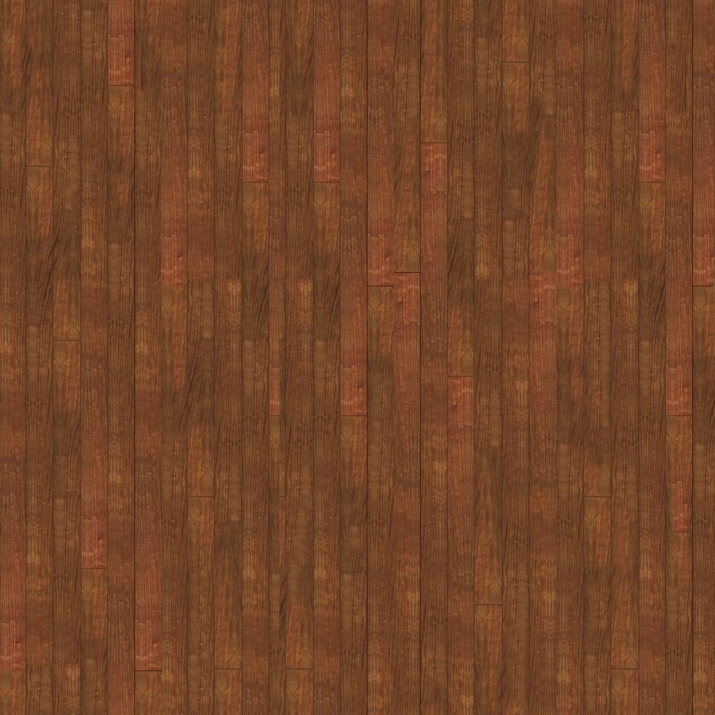 나무 바닥재, 나무 타일의 범프 맵, 디퓨즈 맵