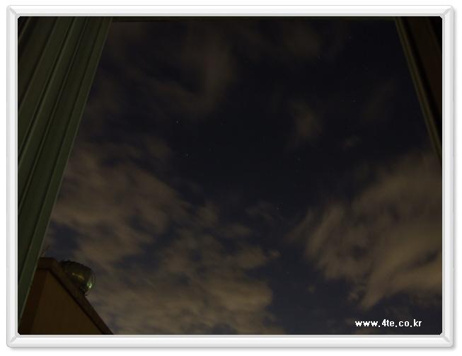 집에서 찍은 하늘 사진들...