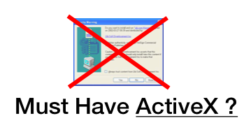 Must have ActiveX?