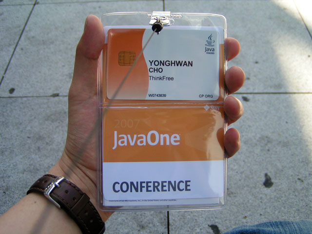 JavaOne 2007 Conference Pass