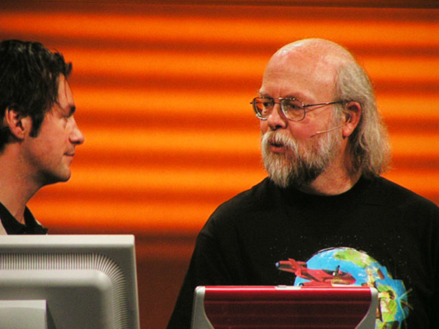 James Gosling @ JavaOne 2007