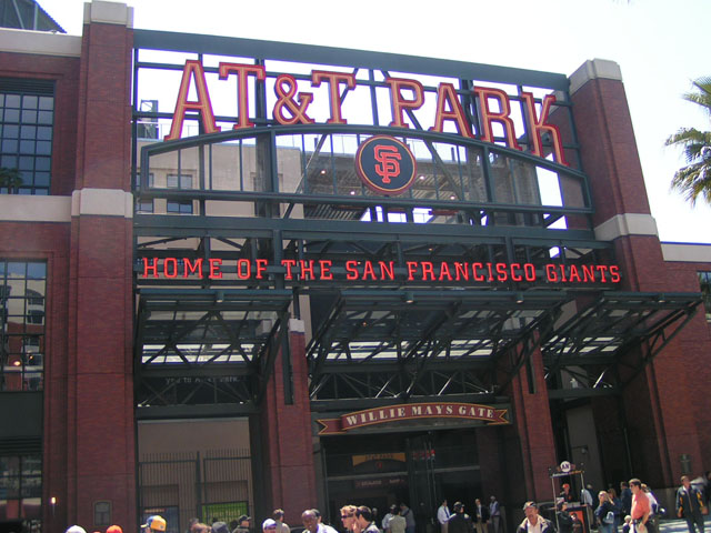 AT&T Park - Entrance