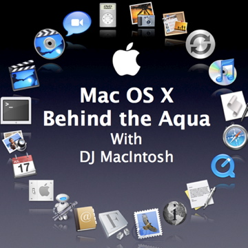 Mac OS X behind the Aqua