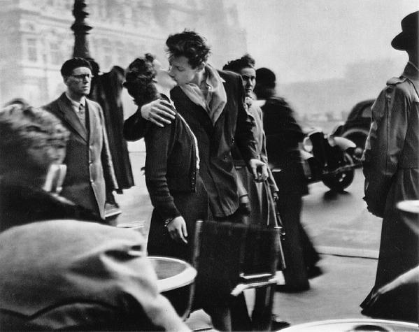 Le Baiser de l'Hotel de Ville, Paris, 1950 <키스, 시청앞광장>