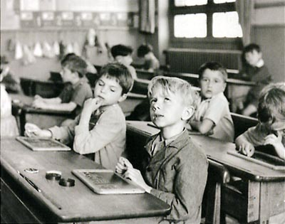 information scolaire 1956