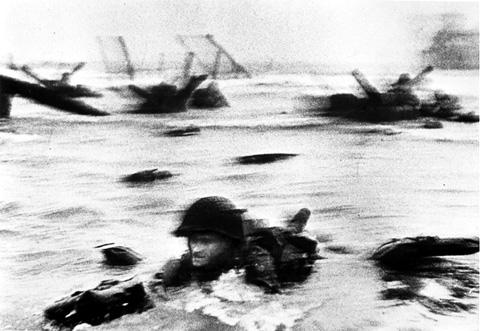 노르망디 상륙작전 The landing at Normandy, 1944.
