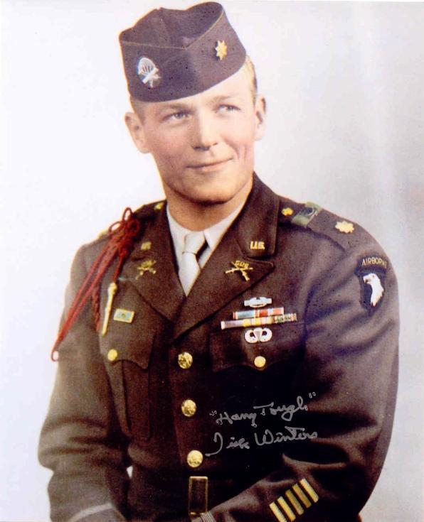Major Richard Winters R.I.P..... | Forums