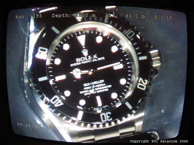 Rolex Sea-Dweller , 수심 1200m 테스트