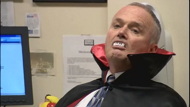 Creed as Count Dracula