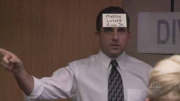 크리스 락 성대모사하는 마이클