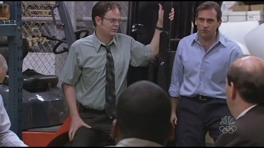 마이클과 남자직원들