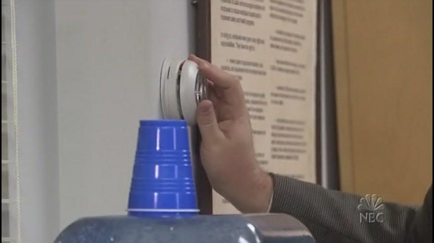사무실 히터 온도 조절하는 케빈
