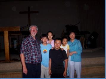 플로이드 맥클랑&홍장빈 가족 @ 메트로, 2003