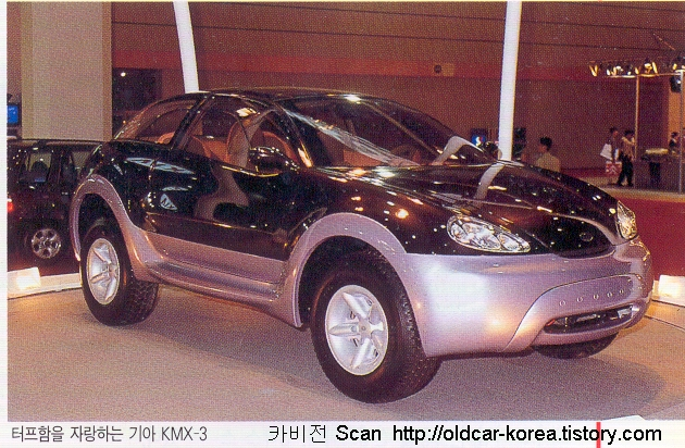 Kia KMX-3 concept front